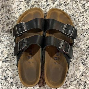Leather Birkenstock's